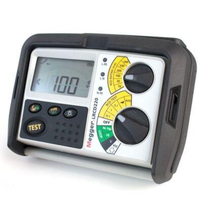 Megger LRCD220 Hurokimpedancia és RCD teszter