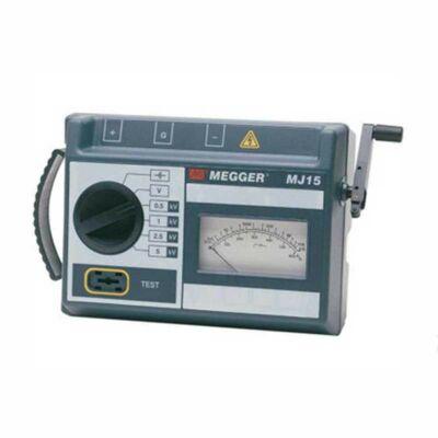 Megger MJ15-EU analóg szigetelési ellenállásmérő, 5kV