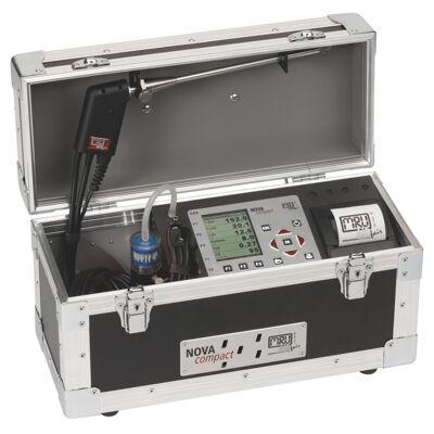 NOVAcompact füstgázelemző készülék