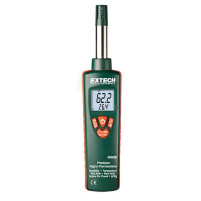 Extech RH490Precíziós hőmérséklet és páratartalommérő kéziműszer