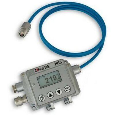 Raytek RAYMI31001MSF1 Ipari infrahőmérő, 500-1800 Celsius, optika 100:1, fókusz: 200mm, 10ms, 1m