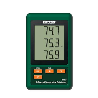 Extech SD200Hőmérsékletmérő adatgyűjtő 3CH
