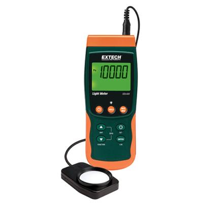 Extech SDL400 Adatgyűjtős fénymérő 100.000 Lux
