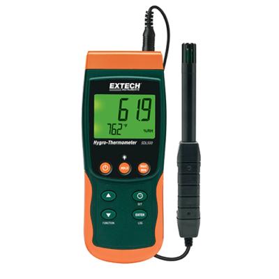 Extech SDL500 Hőmérséklet és páratartalom mérő és adatgyűjtő