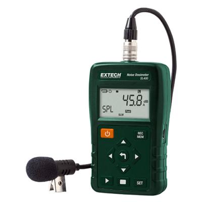 Extech SL400Személyi zajdózis mérő és adatgyűjtő, USB-vel