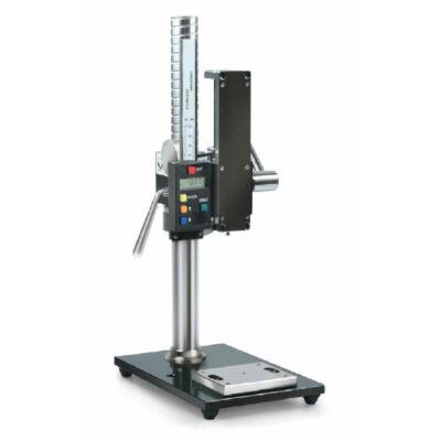 Sauter TVP-L erőmérő állvány kézi nyomóerő méréshez digitális hosszmérővel