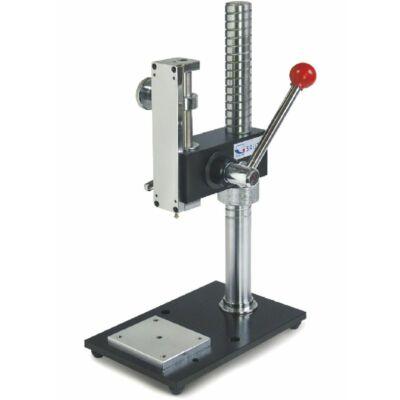 Sauter TVP erőmérő állvány kézi nyomóerő méréshez digitális hosszmérővel