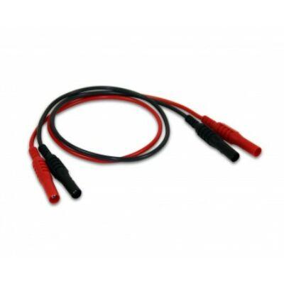 PicoTA309 Banán (4mm) - banán (4mm) mérőkábel, 50cm, piros