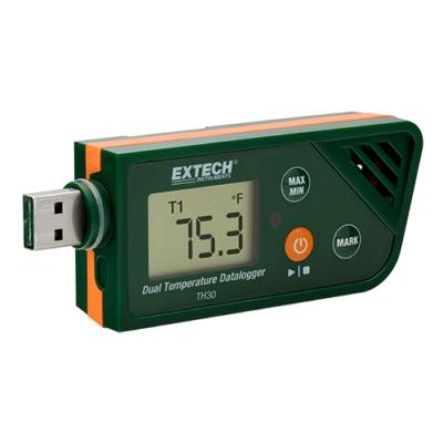 Extech TH30 Hőmérsékletmérő USB adatgyűjtő 2CH