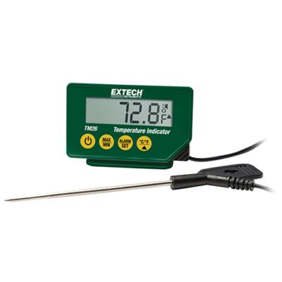 Extech TM26 Hőmérsékletmérő műszer, vízálló, beszúró hőmérőfejjel