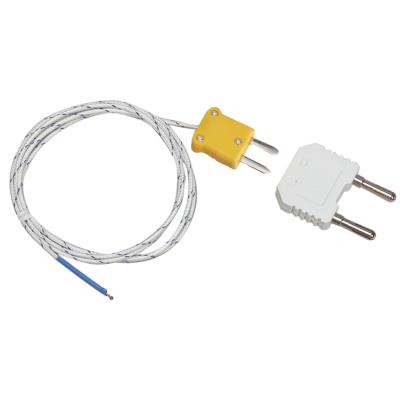 Extech TP873 K-típusú lebegő hőmérőfej és dmm banán adapter