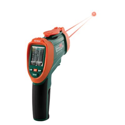 Extech VIR50 Vizuális infrahőmérő kettős lézerrel, 50:1, 2200 Celsius