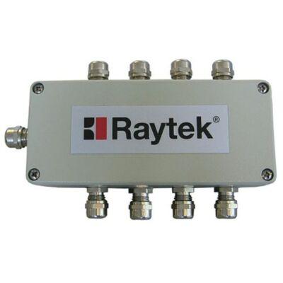Raytek XXXMI3CONNBOX Multi fejes interfész doboz MI3 kommunikációs dobozokhoz, max 8 fej, 5m