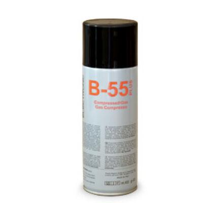 B55 SŰRÍTETT LEVEGŐ SPRAY, 400ml (nem gyúlékony)**