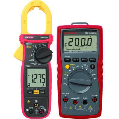 Amprobe AM-535-EUR multiméter és AMP-320-EUR lakatfogó készlet