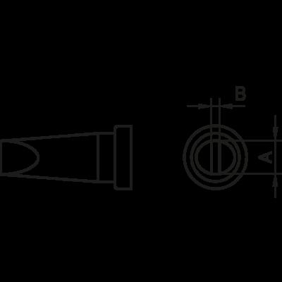 Weller LT M pákahegy 3.2mm