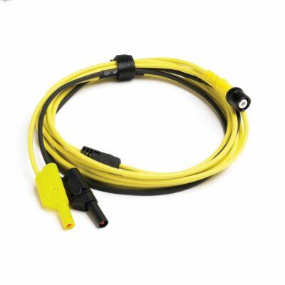 Pico TA202 Prémium mérővezeték, BNC-4mm, 5m, sárga