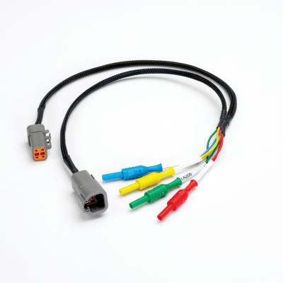 Pico TA205 4-pin nagy méretű német DTPXX-4 csatlakozós Y kábel