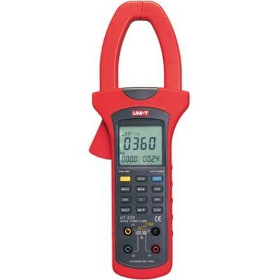 UNI-T UT233 lakatfogó teljesítményméréssel 1000A AC